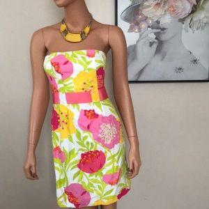 EUC Lilly Pulitzer floral dress